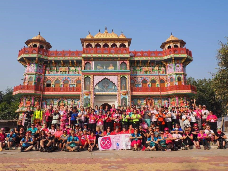 Women V Cancer Cycle India Group