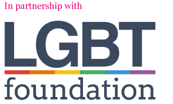 The LGBT Foundation logo.