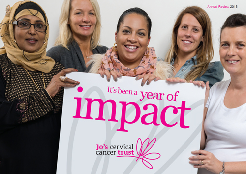 Jo's Cervical Cancer Trust Annual Review 2014-15