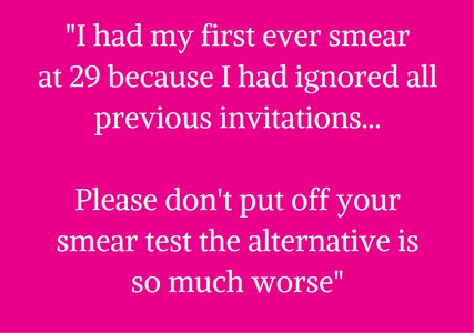 smear test quote