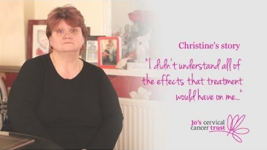 Embedded thumbnail for Cervical cancer stories: Christine's story