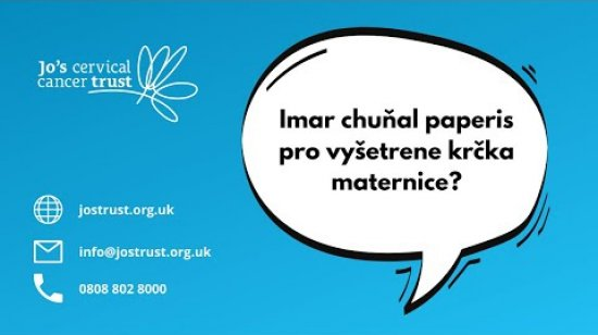 Embedded thumbnail for Roma (spoken) - Your guide to cervical screening