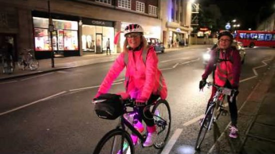 Embedded thumbnail for Woman V Cancer Ride the Night 2015