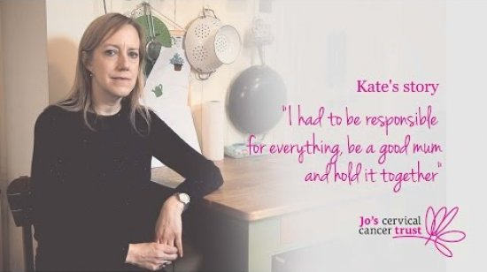 Embedded thumbnail for Cervical cancer stories: Kate's story