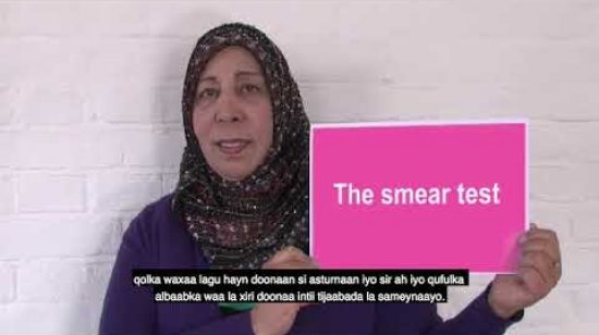 Embedded thumbnail for Somali - Your guide to cervical screening