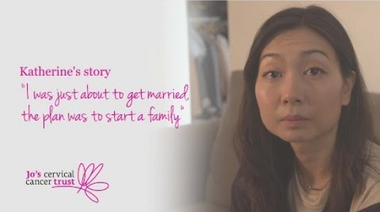 Embedded thumbnail for Cervical cancer stories: Katherine's story