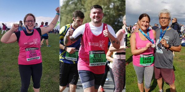 Great North Run for charity