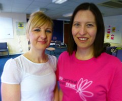 Newcastle cervical cancer support group leaders