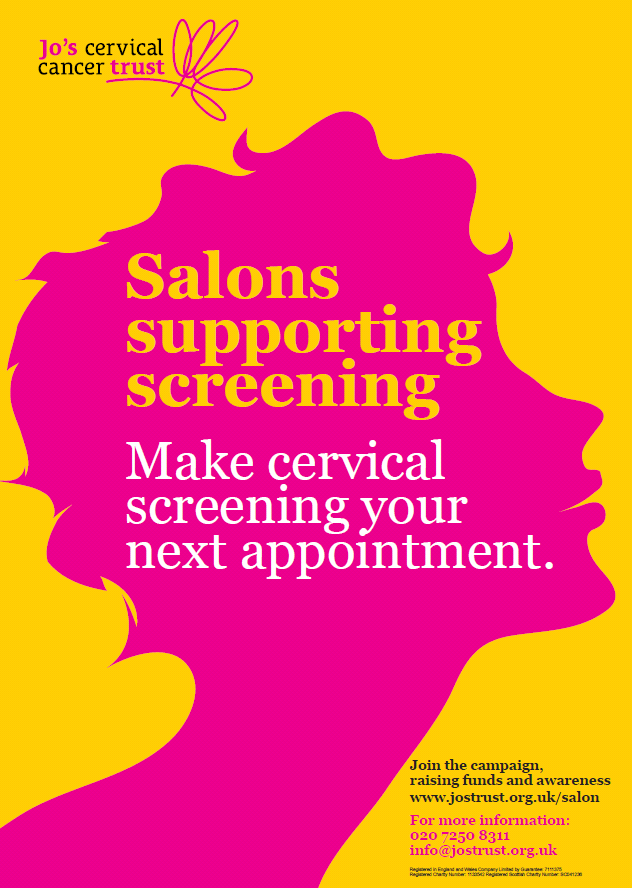 Salons supporting screening poster